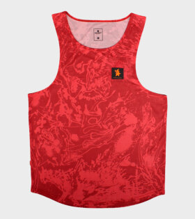 Le Fix X SaySky LFXSaySky Singlet Red - dr. Adams