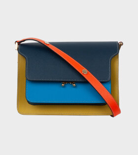 Medium Trunk Bag Blue/Yellow/Orange