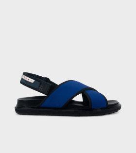 Fussbett Sandal Blue/Black