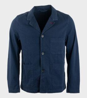 Paul Smith - Convertible Collar Jacket Blue