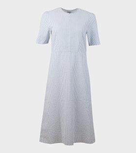 Won Hundred Ivy Dress Zen Blue Stripe - dr. Adams