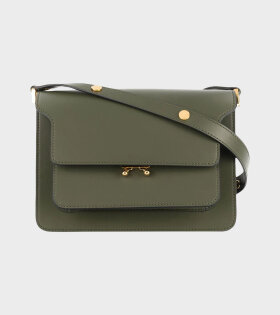 Marni Medium Trunk Bag Army Green - dr. Adams