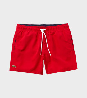 Lacoste - Swim Shorts Red
