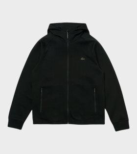 Lacoste - Zip Hoodie Black