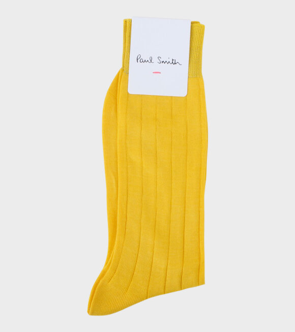 Men's Yellow Rib Mers Plain