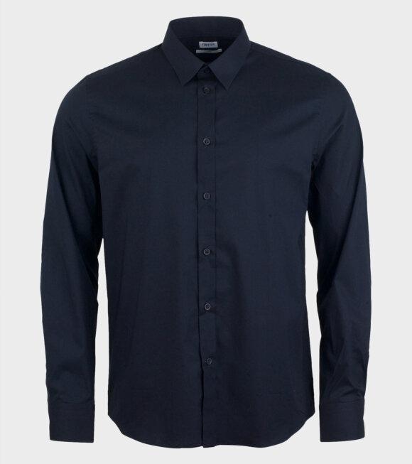 M. Paul Stretch Shirt Blue