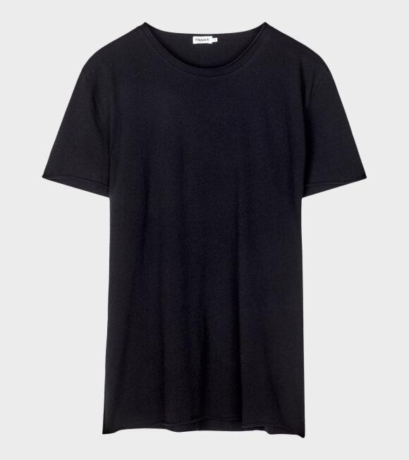 M. Roll Neck T-shirt Dark Blue