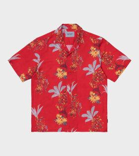 Carhartt WIP - Hawaiian Floral Shirt Red