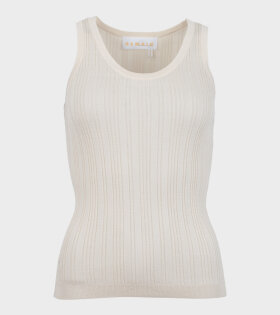 Remain - Gere SL Knit Top Off-White
