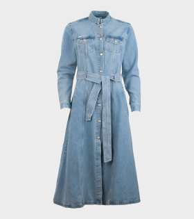 Won Hundred - Lauren Denim Dress Light Blue