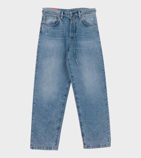 Acne Studios - 1991 Toj Loose Fit Jeans Light Blue
