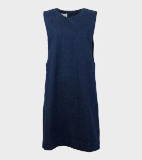 Form Dress Indigo Denim Blue