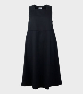 Ray Pinafore Dress Black