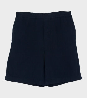 Acne Studios - Ruben Garmet Dye Shorts Dark Blue