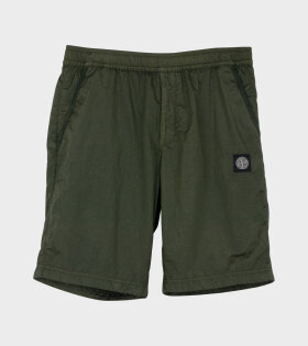 Stone Island - Nylon Metal Ripstop Shorts Green