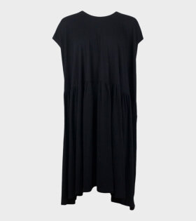 Gather Dress Black