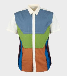 Comme des Garcons Shirt - S/S Shirt Multicolor
