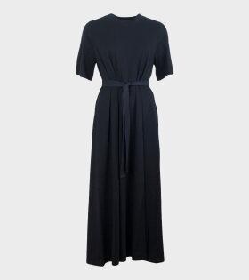 Tee Shirt Swing Dress Black
