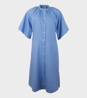 Observer Chambray Dress Sky Blue