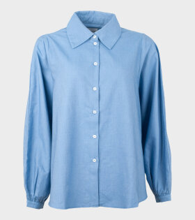 Lens Chambray Shirt Sky Blue