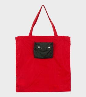Marni Shopping Bag Red - dr. Adams