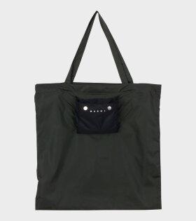 Marni Shopping Bag Green - dr. Adams