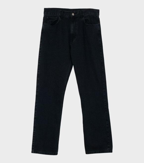 Carne Bollente - Le Plus Dur Est Derriere Pants Black