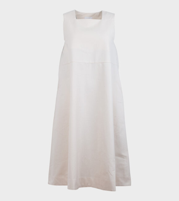 Kowtow - Ray Pinafore Natural Off-White