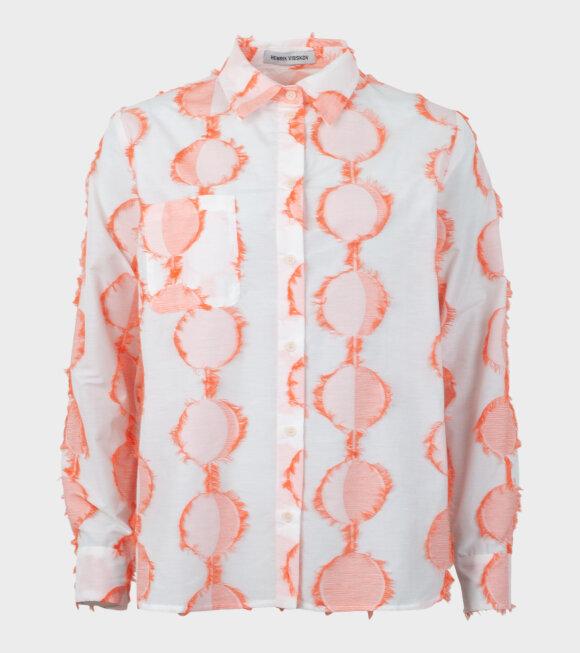 Henrik Vibskov - Crane Shirt White/Orange