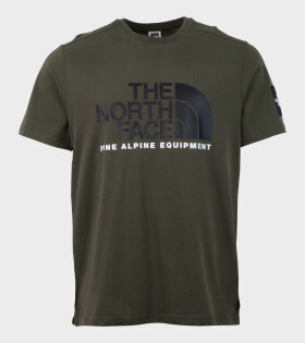 The North Face - M SS Fine Alp Tee 2 Green