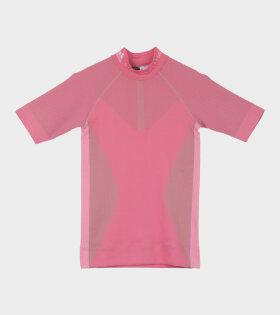 Run Knit Tee Pink