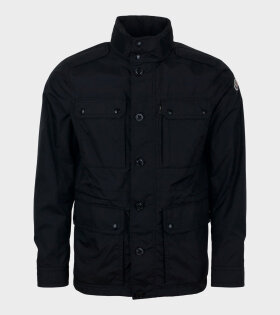 Moncler Lez Giubbotto Jacket Black - dr. Adams