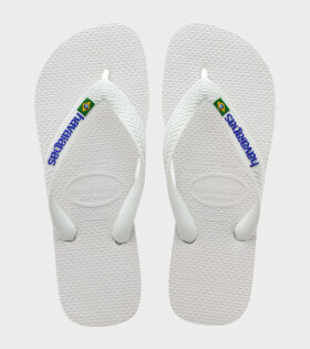 Brazil Logo White