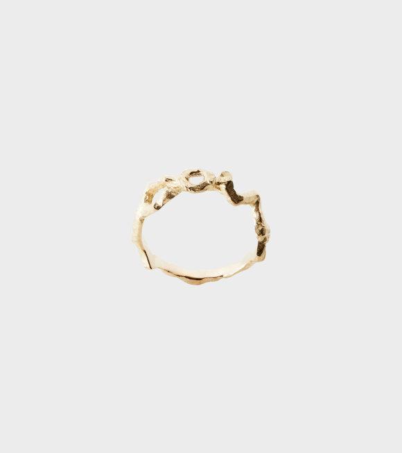 Niels Monies - Flow Ring Gold