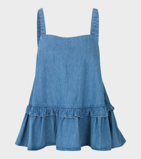 Bista Soft Indigo Top Blue