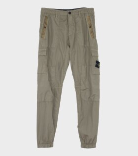Nylon Five Pocket Trouser Green