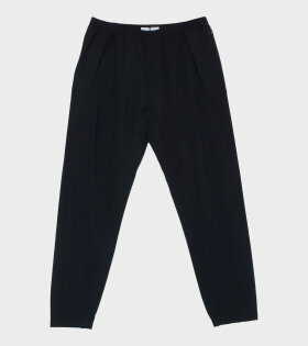 Logo Trousers Black