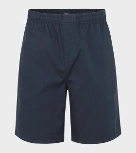 Light Cotton Sean Shorts Blue