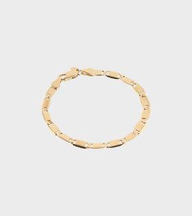 Maria Black Medina Bracelet Small Gold - dr. Adams