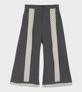 Lenka Pants, Black and White