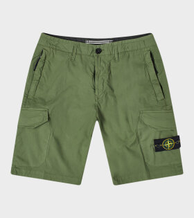 Logo Shorts Army Green