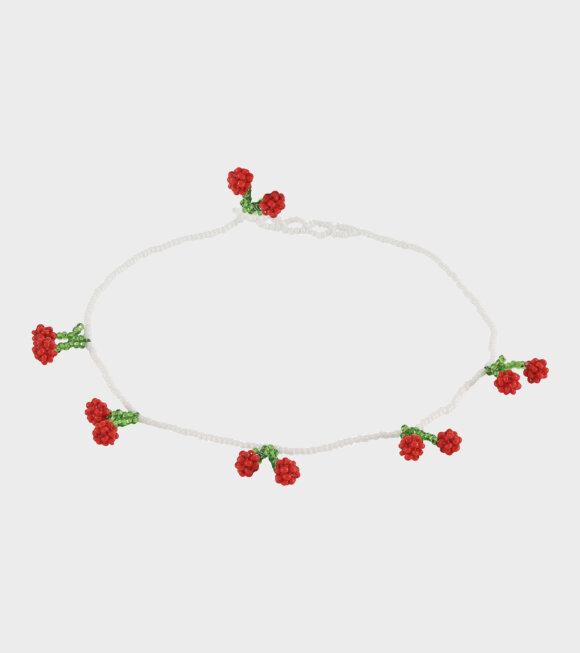 Pura Utz - Cherries Necklace
