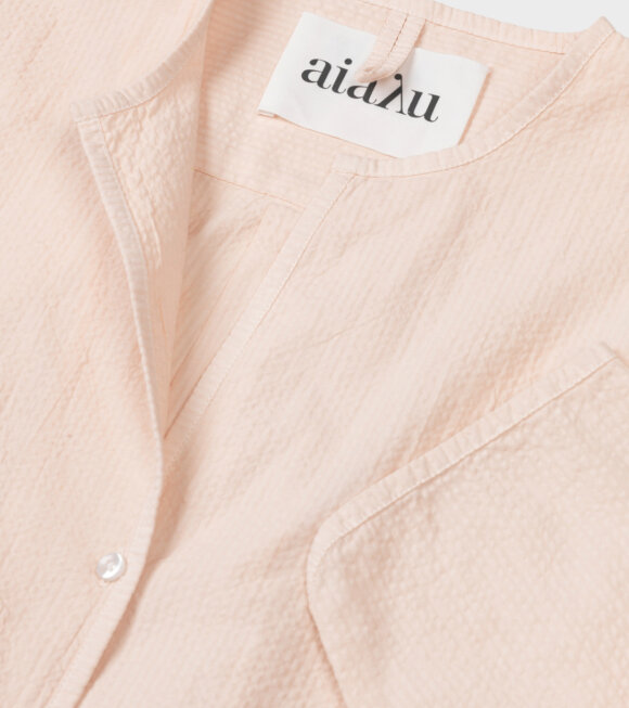 Aiayu - Pyjamas Seersucker Shell Orange