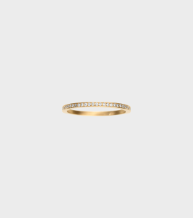 Rue de Diamant Ring 0.8ct 18K