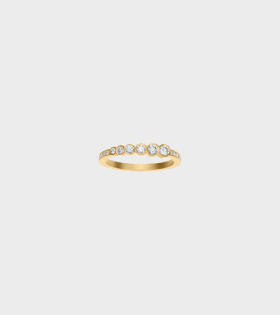 Plaine De Pave Ring 0.31ct 18K