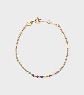 Rainbow Bracelet Gold