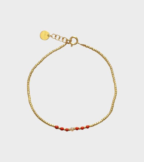 Anni Lu - Emerald Bracelet Corail