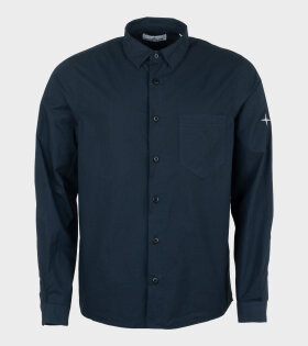 Cotton Logo Shirt Blue