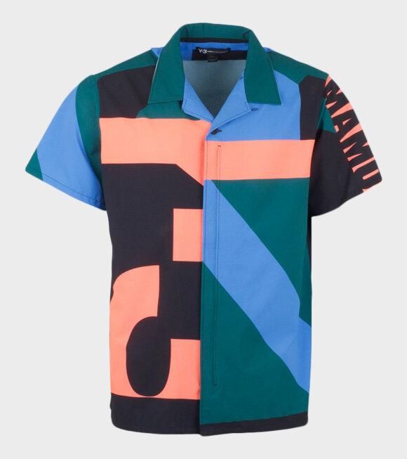 Y-3 - Swim AOP Shirt Multicolor