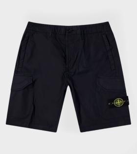 Stone Island - Logo Shorts Black